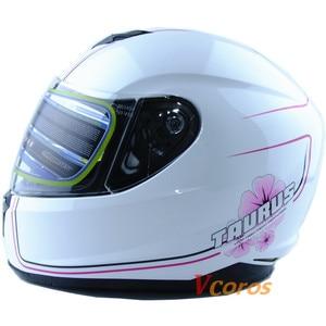 Image 5 - Vcoros รถจี๊ปใหม่มาถึง XS ขนาดรถจักรยานยนต์ฤดูหนาว full face หมวกกันน็อก capacete motoqueiro