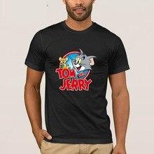 f42082652 Gildan criatura hombres camiseta de Tom y Jerry de los hombres T camisa  Casual S-3xl Camiseta Hombre Vintage Venta caliente