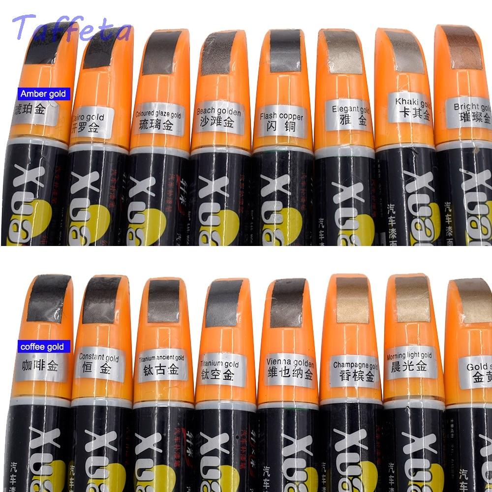 1pcs Universal Auto Car Repair Pen Bright Gold Morning Light  Constant Gold Car Pro Smart Coat Paint Scratch Car Smart Coat