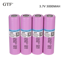 4pcs 100% Original 3.7V 3000mah 18650 Battery INR18650 30Q 20A Discharge Li-ion Rechargeable Battery For Russia Free Shippin цена