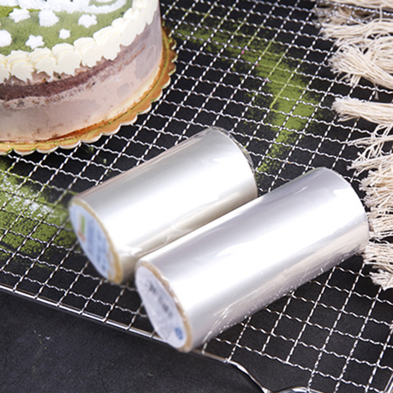 Mousse Cake Dessert Surrounding Hard Transparent Bounded Decor Sheet Food Film Around Cake Edges OPP Plastic Band Durable