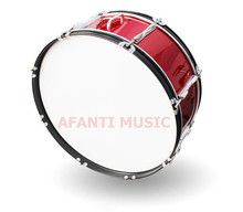 22 inch / Burgundy  Afanti Music Bass Drum (BAS-1361)
