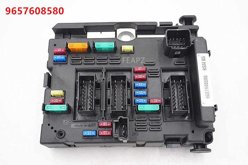 fuse box unit assembly relay for citroen c3 c5 c8 xsara picasso peugeot 206 cabrio 307 cabrio 406 coupe 807 9657608580 Citroen DieselCars