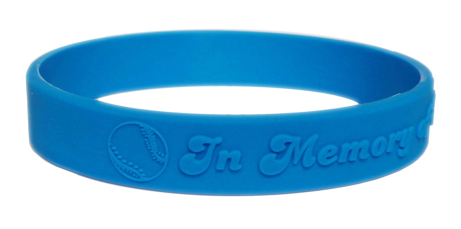 Lot Custom Rubber Bracelet Silicone Egwbe001 Embossed Text Or  Personalized Logo For