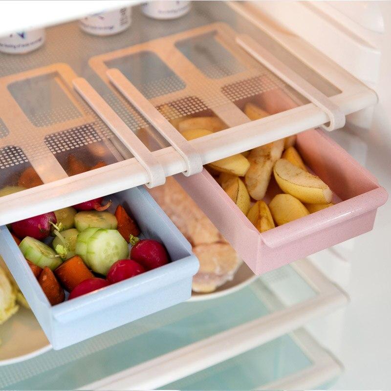 Tiroir type réfrigérateur boîte de rangement creative plateau en ...