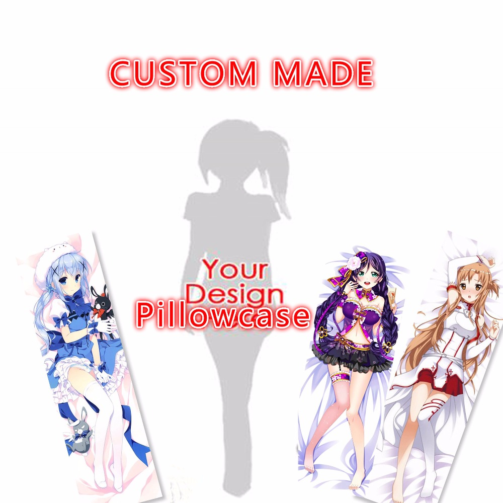 Anime Body Pillow Case Pattern Pillowcase Decorative Pillows Pillow Cases Home Dakimakura Custom Made