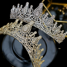 High quality princess headband dance party crown inlaid crystal comb tiara wedding hair accessories fashion jewelry