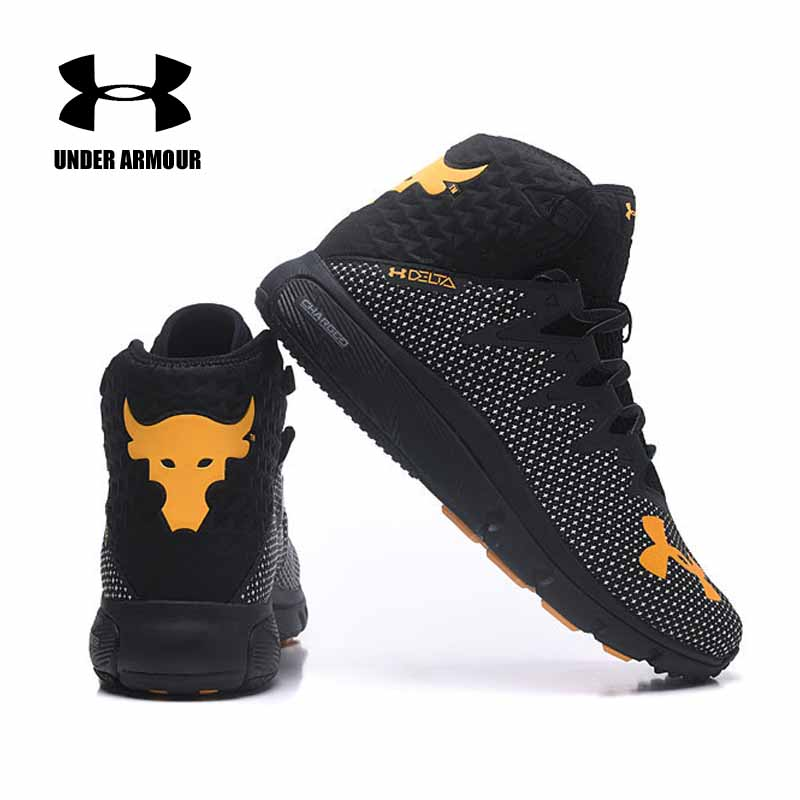 promo code 26e58 920b2 Under Armour Men Project Rock Delta Basketball shoes Training boots Zapatos  de hombre Anti skid cushion sneakers Brand Designers-in Basketball Shoes  from ...