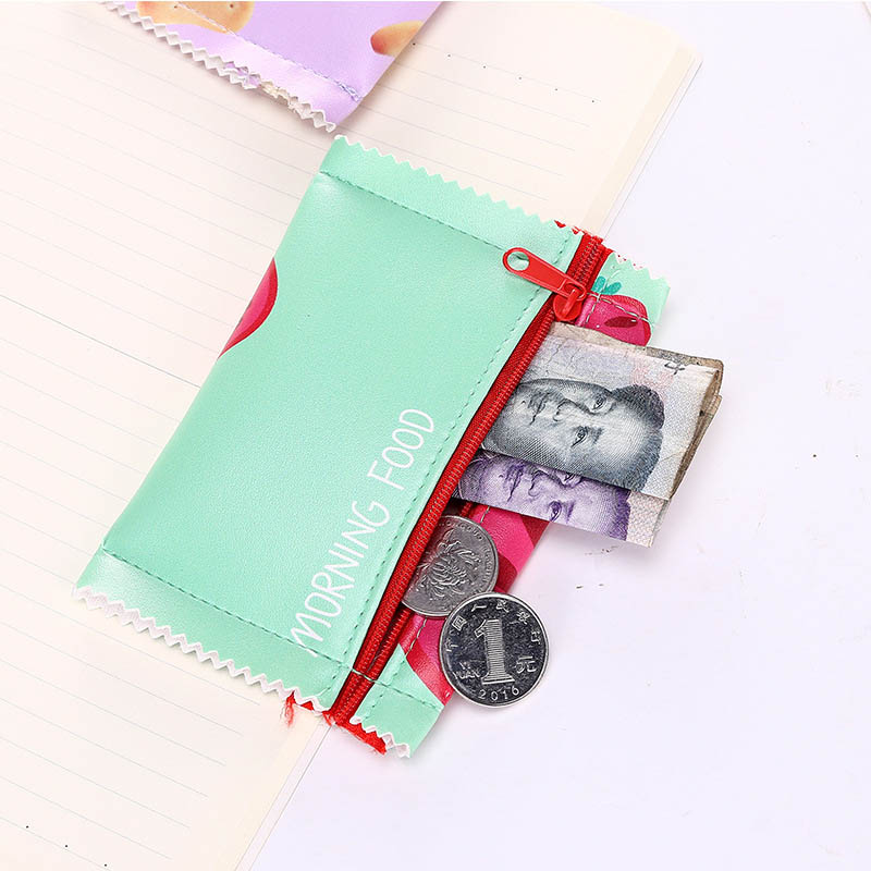 Creative Candy Snack Coin Purse Women Zipper Change Purse Wallet Small Pouch Bag
