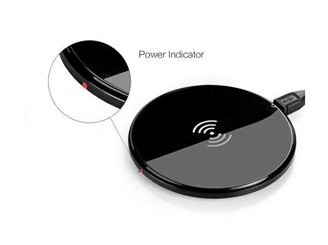 Universal Ultra thin QI Wireless Charger Charging Pad for Samsung S6/S7/S7 Edge Note5 High efficient Qi standard