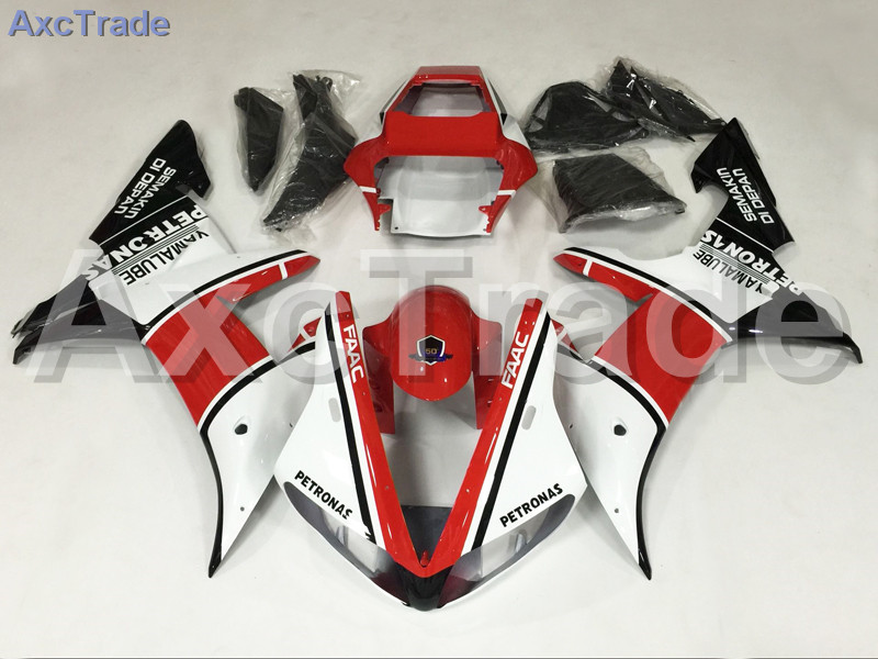 Motorcycle Fairings Kits For Yamaha YZF1000 YZF 1000 R1 YZF-R1 2002 2003 02 03 ABS Injection Fairing Bodywork Kit Red Black A832