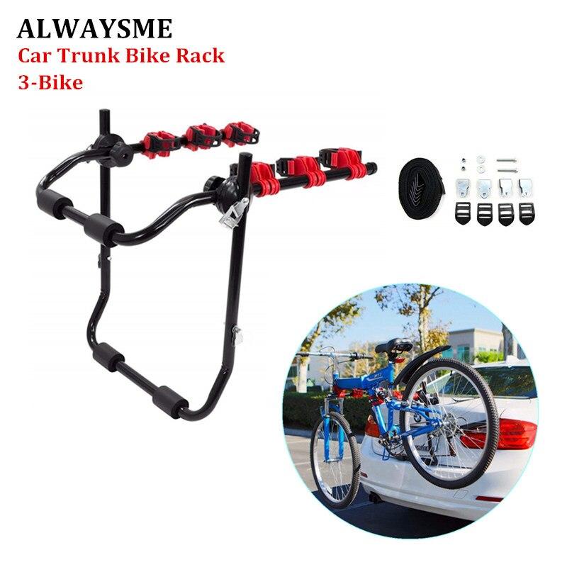 ALWAYSME 3-велосипедный багажник багажника для кроссоверов, MPV, седанов...