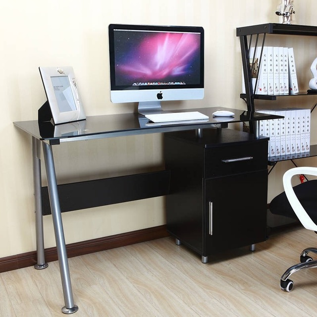 Us 597 0 Shipping Ikea Minimalist Modern Home Children S Desk Writing Desk Simple Black And White Sh 03 In Computer Desks From Furniture On