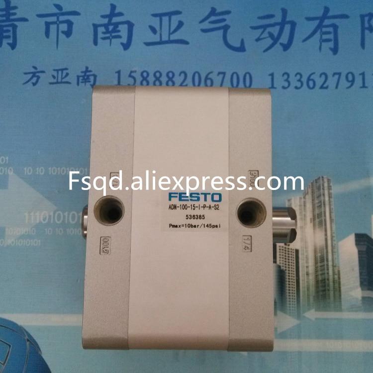 ADN-100-15-I-P-A-S2 536385 FESTO compact cylinder