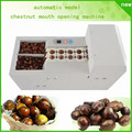 free shipping Automatic 220V 250kg/h Electric Chestnut Opener incision commercial Chestnut cutting machine