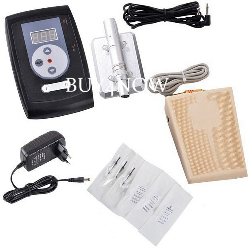 Professional Permanent Makeup Machine kit Rotary Tattoo Machine Swiss Motor with tattoo accesories power supply картридж canon pfi 107bk 6705b001