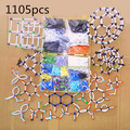 DLS-91105 a large set Chemistry Molecular structure Model Kit  the polymer tube - dedicated high molecular Polymer free shipping