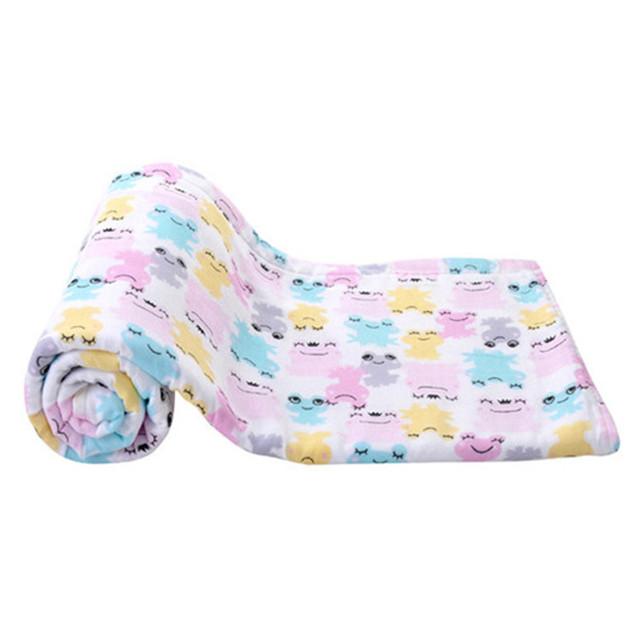De algodón súper suave toalla bebé toalla de gasa bebé recién nacido 100% Algodón A-XBK-YJ-004