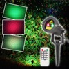 Laser Christmas Light Outdoor Star Red Green Waterproof Show Projector Landscape Tree Decoration With Remote Control