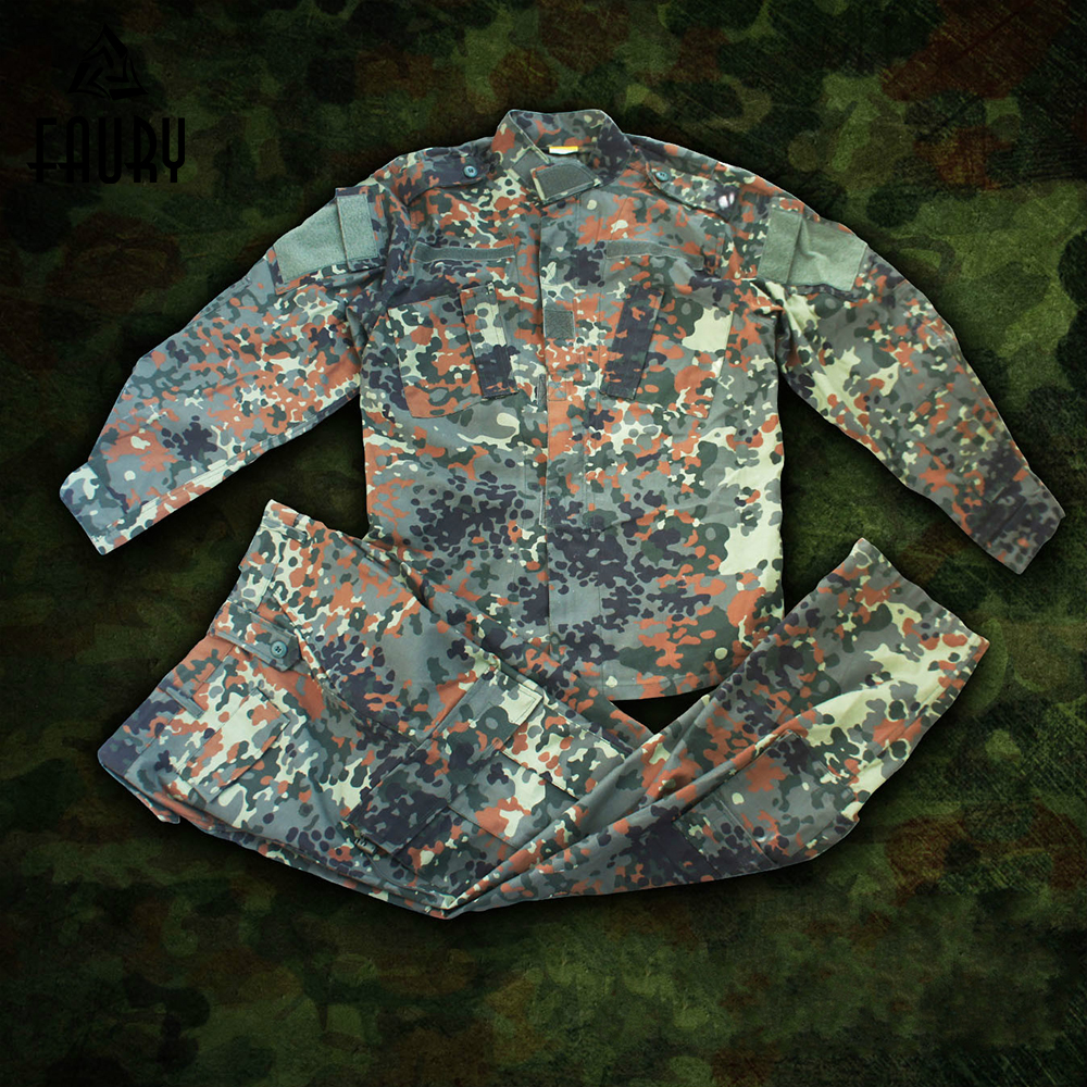 Army Military Uniform ACU Camouflage Hunting Suit Tactical Military Bdu Combat Gear Outdoor Camouflage Army Men Clothing Set