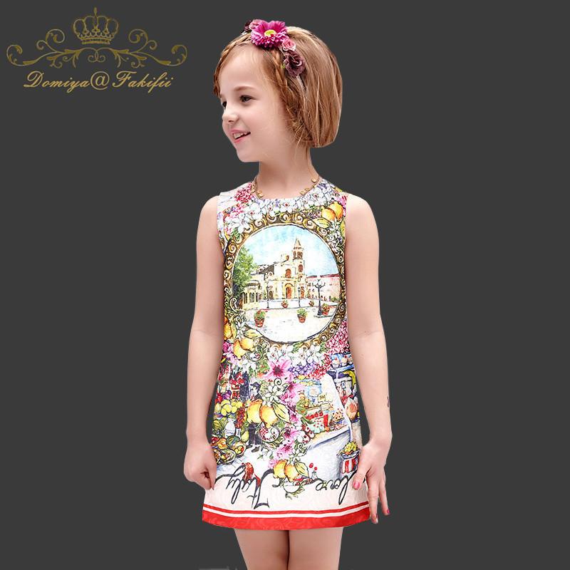 Girls Summer Princess Dress with Crystals 2018 Famous Brand Robe Fille Kids Dresses for Baby Clothes Children Clothing Costume robe fille tutu dresses for girls clothes with bag reine des neiges flower girl dress princess costume vestido children clothing
