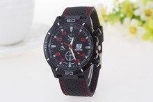 zegarki meskie Top Brand Outdoor Men's Sports Watches relogio masculino Silicone Quartz Wrist Watches Men Military Watches Hot