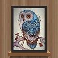AZQSD Colorful Owl Diamond Painting 5D DIY Diamond Mosaic Cross Stitch Set Animal Full Round Diamond Embroidery Home Decor YZ260