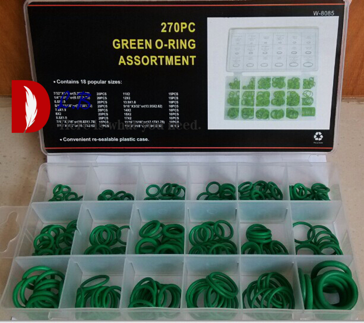 Hu 2020 Good Products Rubber O Ring Washer Hydraulic Plumbing Gasket Seal Assortment Set 225Pcs