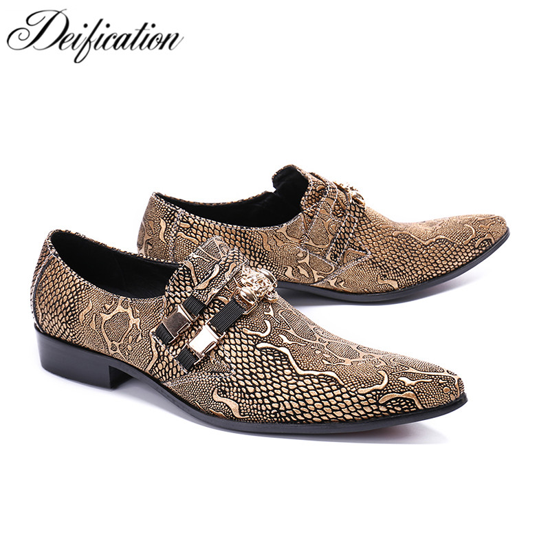 Deification Zapatos Men Shoes Luxury Brand Men Oxfords Shoes Pointy Toe Genuine Leather Dress Shoes Slip On Party Wedding ShoesDeification Zapatos Men Shoes Luxury Brand Men Oxfords Shoes Pointy Toe Genuine Leather Dress Shoes Slip On Party Wedding Shoes