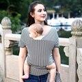 Anel Envoltório Estilingue Confortável Portador de Bebê Do Estilingue do bebê Respirável Macio Capa De Enfermagem Do Bebê Embrulhe Transportadora Canguru Mochila 0-3 anos