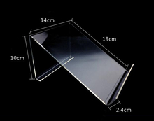 5pcs High quality Tablet Stand clear acrylic ipad display stand MP4 MP5 Book holder fashion car navigation rack