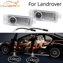 цены на 2X Auto Welcome Door Shadow Projection Courtesy Lamp Laser For Land Rover Range Rover Discovery Evoque Freelander 2 Car Styling  в интернет-магазинах