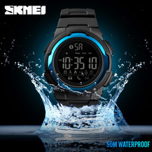 2019 SKMEI New Clock Men Sports Watch Bluetooth Smart Digital Clock Mens Top Lux