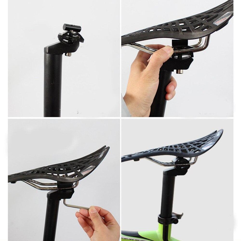 Nova Liga de Alumínio Bicicleta Selim Mtb Estrada Mountain Bike Preto Tubo Do Assento Espigão 27.2/28.6 */30.4 ** 300 Milímetros Peças de Bicicletas