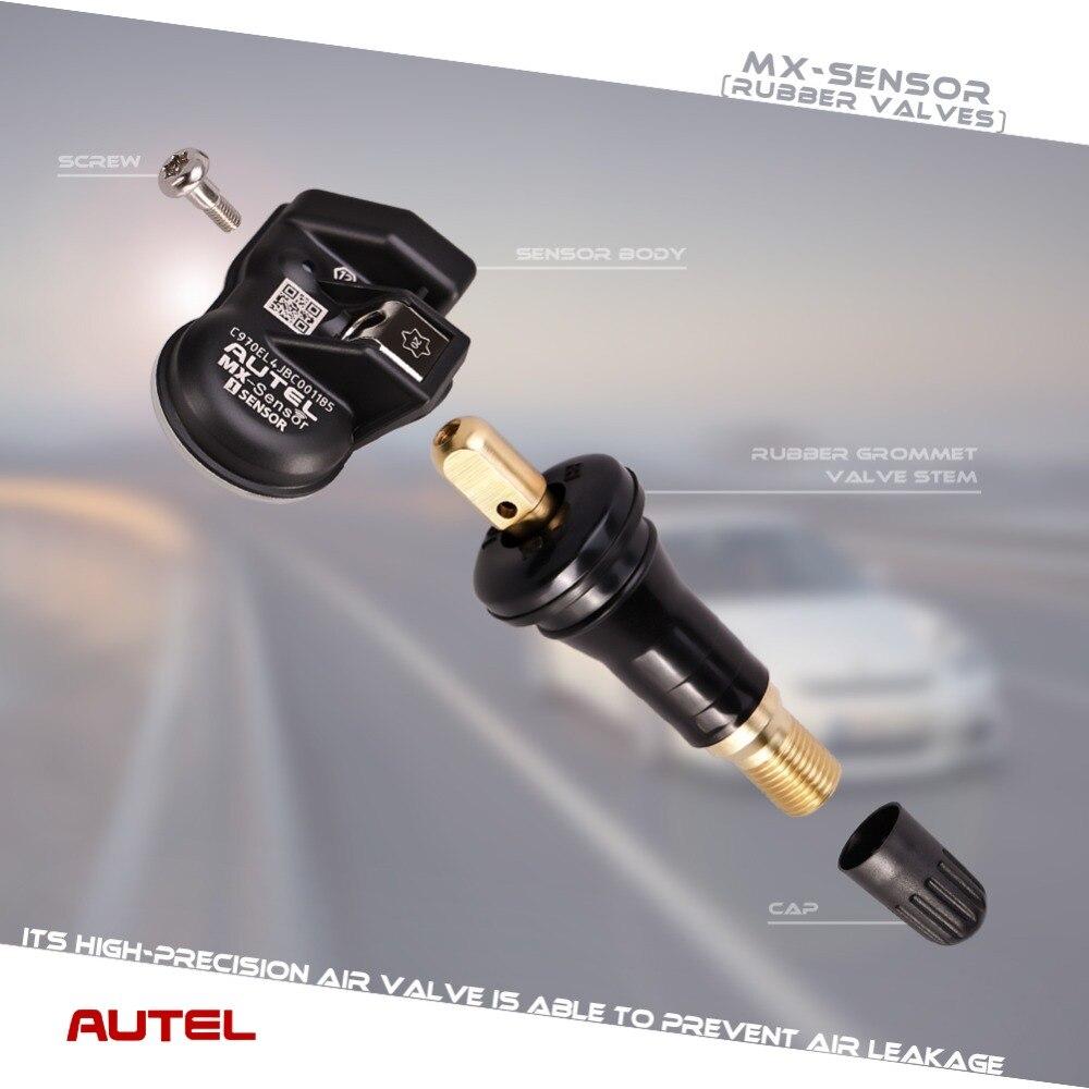 Image 5 - Autel mx сенсор TPMS 2 в 1 433 МГц 315 МГц датчик MX для autel MaxiTPMS TS601 инструмент диагностики давления в шинах программирующий монитор-in Тестеры давления и вакуумные тестеры from Автомобили и мотоциклы
