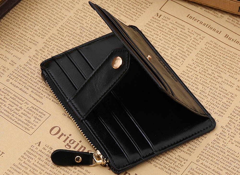 Горячая Распродажа, Женский кошелек, мини кожаный на молнии, кредитный ID держатель для карт, сумка для денег, высокое качество, брендовый кошелек, держатель для карт, кошелек для монет