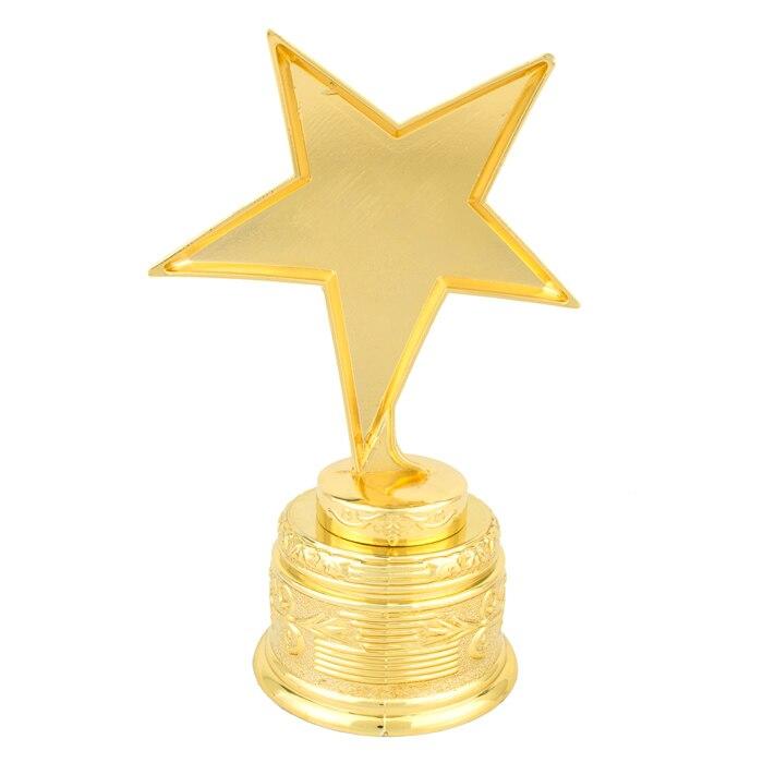 Gold Star Trophy Table Set For Home Decor Vintage Trophyt Box Craft Medal Best ParentStar Women Men In Figurines Miniatures