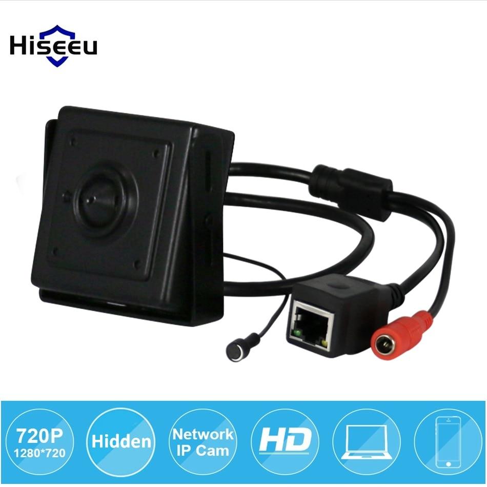 bilder für Micro 3,6mm Objektiv Mini-ip-kamera 720 P Home Security System Videoüberwachung Tiny HD Mikrofon Onvif Video P2P Hiseeu