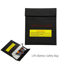 18*23cm Fireproof Lipo Battery Safety Bag Explosion-proof Guard Charge Sack Protection Bag for RC LiPo Battery Charging