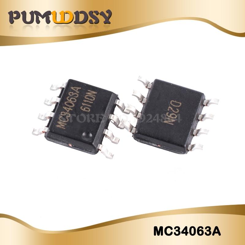 50PCS/Lot MC34063 MC34063A MC34063API 34063 SOP8 Chip New Wholesale