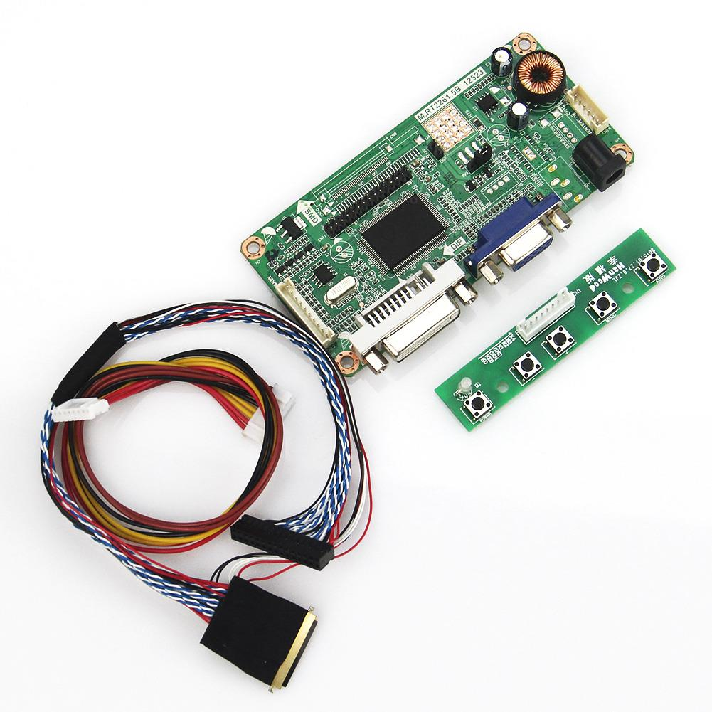 For LTN116AT02 B116XW02 V 0 (VGA+DVI) M RT2261 LCD/LED Controller Driver  Board LVDS Monitor Reuse Laptop 1366x768-in Tablet LCDs & Panels from