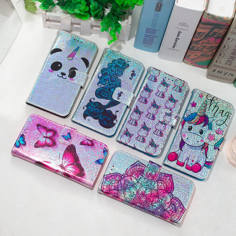 Flip Case For Etui Samsung S9 Leather Wallet Panda Case For Samsung Galaxy S9 Flip Phone Case For Samsung S9 Cover Capinha