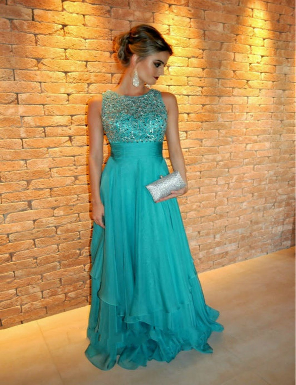 Popular Turquoise Formal Cheap