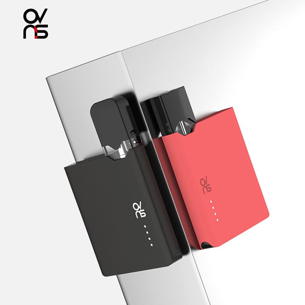 Original OVNS JC01 Pod Vape Kit 400mAh Electronic Cigarette 0.7ml Cartridge Pod Tank 400mAh 3LED Light Vaporizer VS Caliburn KIT