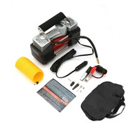 New 12V 150PSI Emergency Heavy Duty 2 Cylinder Car Air Compressor Tire Inflator Pump Universal for Car Trucks Bicycle