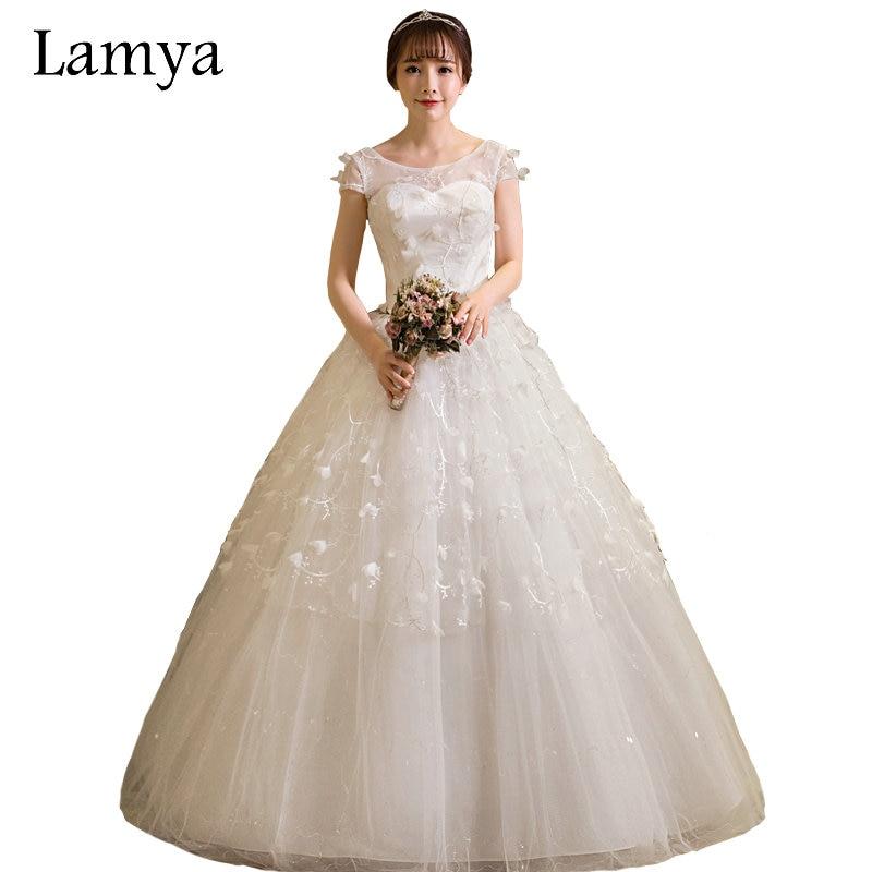 LAMYA Customized Princess Sweatheart Wedding Dresses 2018 Cheap ...