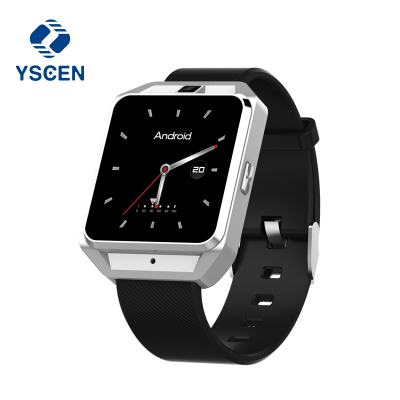 YSCEN Android 6.0 Smart Watch M5 MTK6737 Heart Rate Monitor With 4G GPS SIM Card Camera Business Smart watch for Men Women Gift 4g gps android 6 0 smart watch m5 mtk6737 heart rate monitor support sim card camera business smartwatch for men women 2018 gift