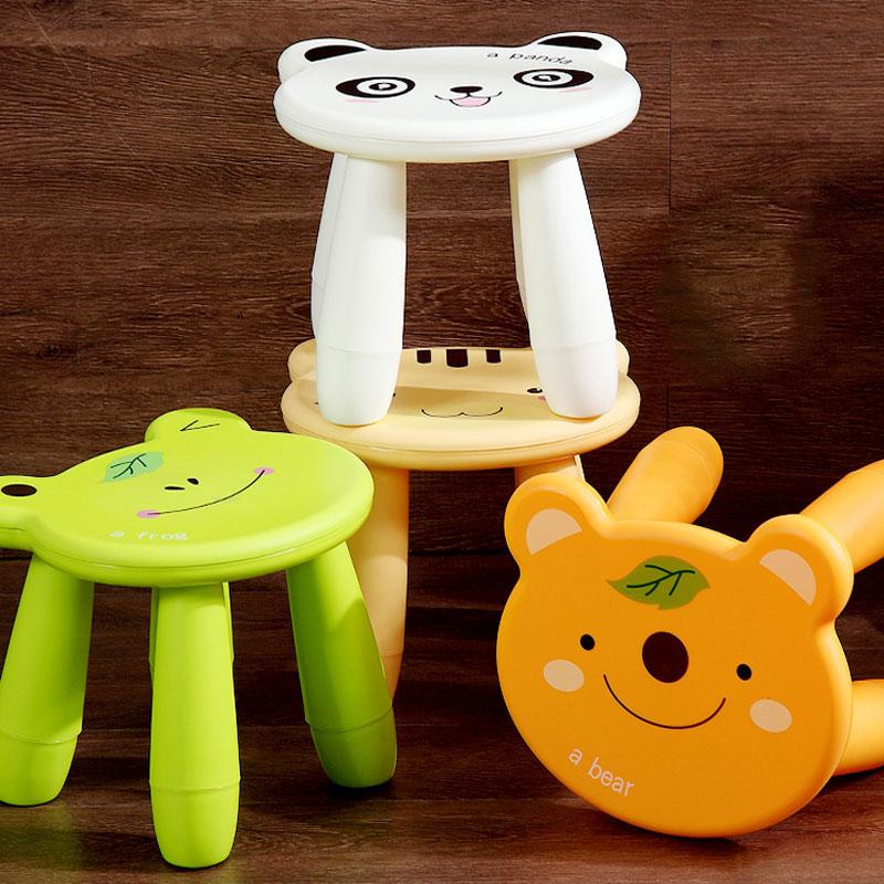 Italiaanse Huis Kinderen Kruk Kruk Woonkamer Volwassen Plastic Schoenen Kleine Kruk Kleuterschool Cartoon Leuke Kleine Bench Hoge Kwaliteit En Weinig Overheadkosten