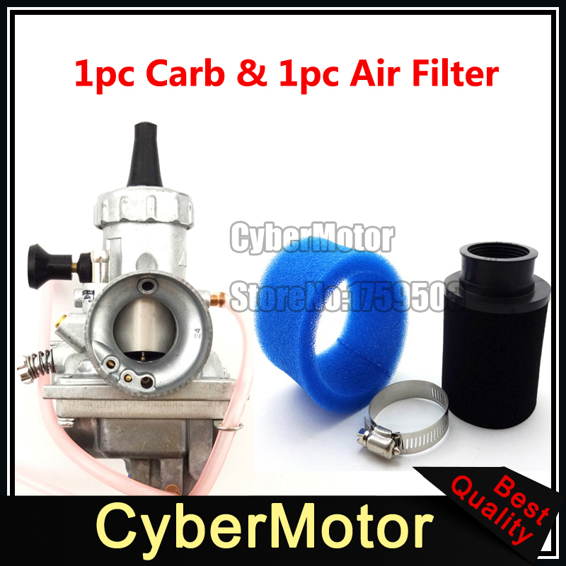 Mikuni VM24 28mm Carburetor Carb + Air Filter For Yamaha YZ85 YZ 85 1998 1999 2000 2001 Pit Dirt Bike Motorcycle Motocross original 26mm mikuni carburetor for cbt125 cb125t cbt250 ca250 carburador de moto