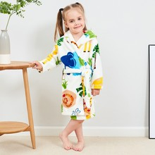 Flannel Unisex Robe for Babies
